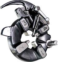 автоматическая самооткрывающаяся резьбонарезная головка 1/2-2 керн kern