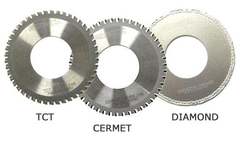 Диски к труборезу Exact Pipecut. Диск ТСТ, CERMET, DIAMOND